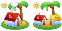 Desktop Icons Set Islands vol. 1 by Yahir Vite