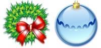 Desktop Icons Set Christmas 2003 by Marvilla