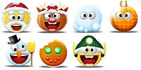 Desktop Icons Set X-Smilies by Tab