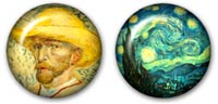 Desktop Icons Set Vincent Van Gogh by Manon Michel