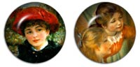 Desktop Icons Set Renoir by Manon Michel