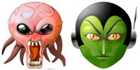 Desktop Icons Set Alien Mind by Rhandros Dembicki
