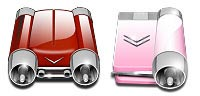 Desktop Icons Set Car Drives by Luis Moreno