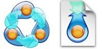 Desktop Icons Set BitTorrent by BuyIcons.com