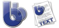Desktop Icons Set Baahaus BBEdit by Paul Armstrong