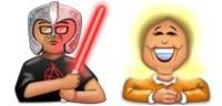 Desktop Icons Set Forum Faces 2 by Afterglow Design