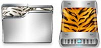 Desktop Icons Set Tiger Xi by Steven W.  Smith