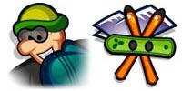 Desktop Icons Set Winter Games by IconBuffet