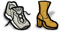 Desktop Icons Set Cute Feet by IconBuffet