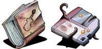 Desktop Icons Set Little Dream vol. 1 by Daniel Goffin