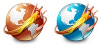 Desktop Icons Set Firefox by Jairo Boudewyn