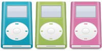 Desktop Icons Set iPod mini by Bombia Design