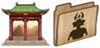 Desktop Icons Set Samurai vol. 1 by FixIcon.com