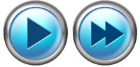 Desktop Icons Set Tiger Blue Player Buttons by Tab