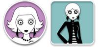 Desktop Icons Set Les Girls by hellcat
