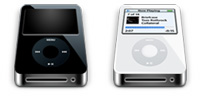 Desktop Icons Set iPod nano Drives by Xman
