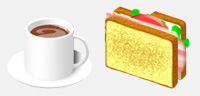 Desktop Icons Set Sandwich Folders X by Saho