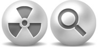 Desktop Icons Set Pearl Buttons by Tab