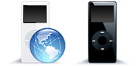 Desktop Icons Set iPod nano by FastIcon.com