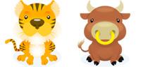 Desktop Icons Set Delightful Zodiac by troyboydesign