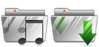 Desktop Icons Set Vista MX Folders by Studiomx