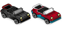 Desktop Icons Set Porsche by ZAPCULT