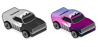 Desktop Icons Set Dodge Charger by ZAPCULT
