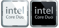 Desktop Icons Set Intel Core Duo Processor by zarquon