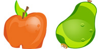 Desktop Icons Set U R What U Eat by ridessnow