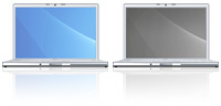 Desktop Icons Set MacBook Pro by Tab
