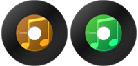 Desktop Icons Set VinylTunes by Ben Briggs