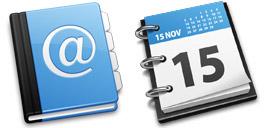 Desktop Icons Set Black & Blue by IconDrawer.com