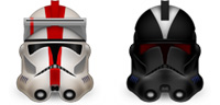 Desktop Icons Set Clone Commanders by Louie Mantia