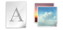 Desktop Icons Set NOD by Cyril Seillet