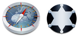 Desktop Icons Set Stainless by panoramix