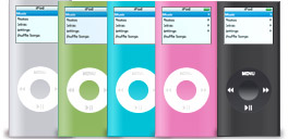 Desktop Icons Set iPod nano (2nd Generation) by Tab