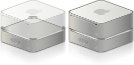 Desktop Icons Set Mac mini LaCie mini Hard Drive & Hub by PlumbLunatic