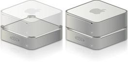 Desktop Icons Set Mac mini LaCie mini Hard Drive & Hub by PlumbLunatic