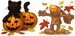 Desktop Icons Set I Love Autumn! by Julia Nikolaeva