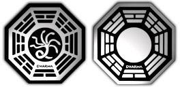 Desktop Icons Set Dharma Initiative by kidjay