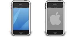 Desktop Icons Set Apple iPhone by Tab