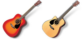 Desktop Icons Set Acoustic Guitars by MugenB16