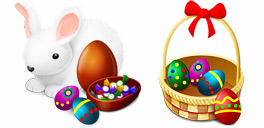 Desktop Icons Set Happy Easter! by Yellow Icon