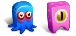 Desktop Icons Set Creatures by FastIcon.com