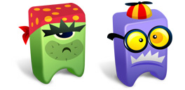 Desktop Icons Set Creatures vol. 2 by FastIcon.com