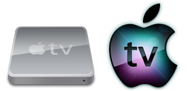 Desktop Icons Set Apple TV by Dan Wiersema