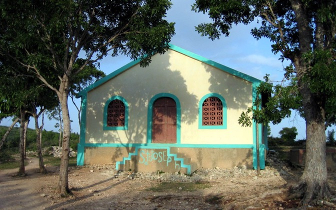 High-resolution desktop wallpaper Haitian Church by WudKayaker
