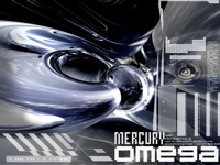 High-resolution desktop wallpaper Mercury Omega by 010011101