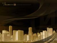 High-resolution desktop wallpaper Miami Gold by Dan Wiersema