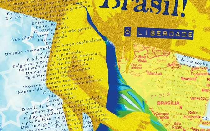 High-resolution desktop wallpaper O Brasil! by Manon Michel
